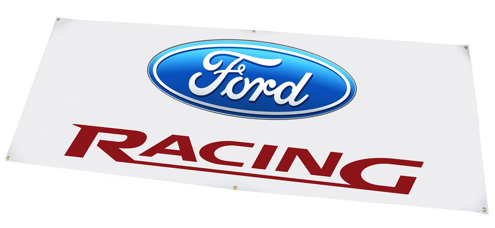 Ford performance parts banners m 1827 a1 free shipping on orders over 99 at summit racing