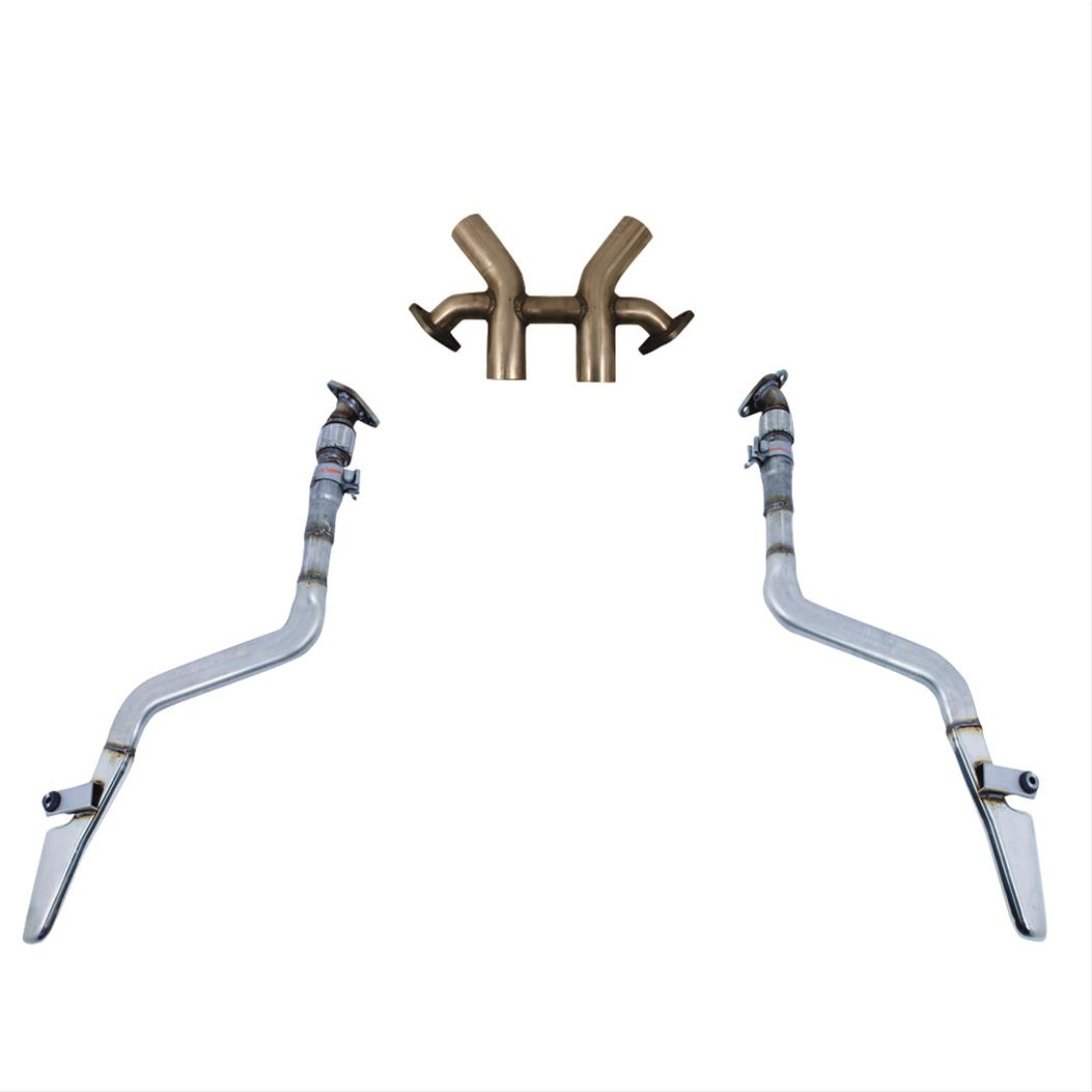 ford performance parts boss 302 style quad exit crossover pipes m rh summitracing com Ford 150 4.6L Engine Diagram Ford Mustang 289 Engine Diagram