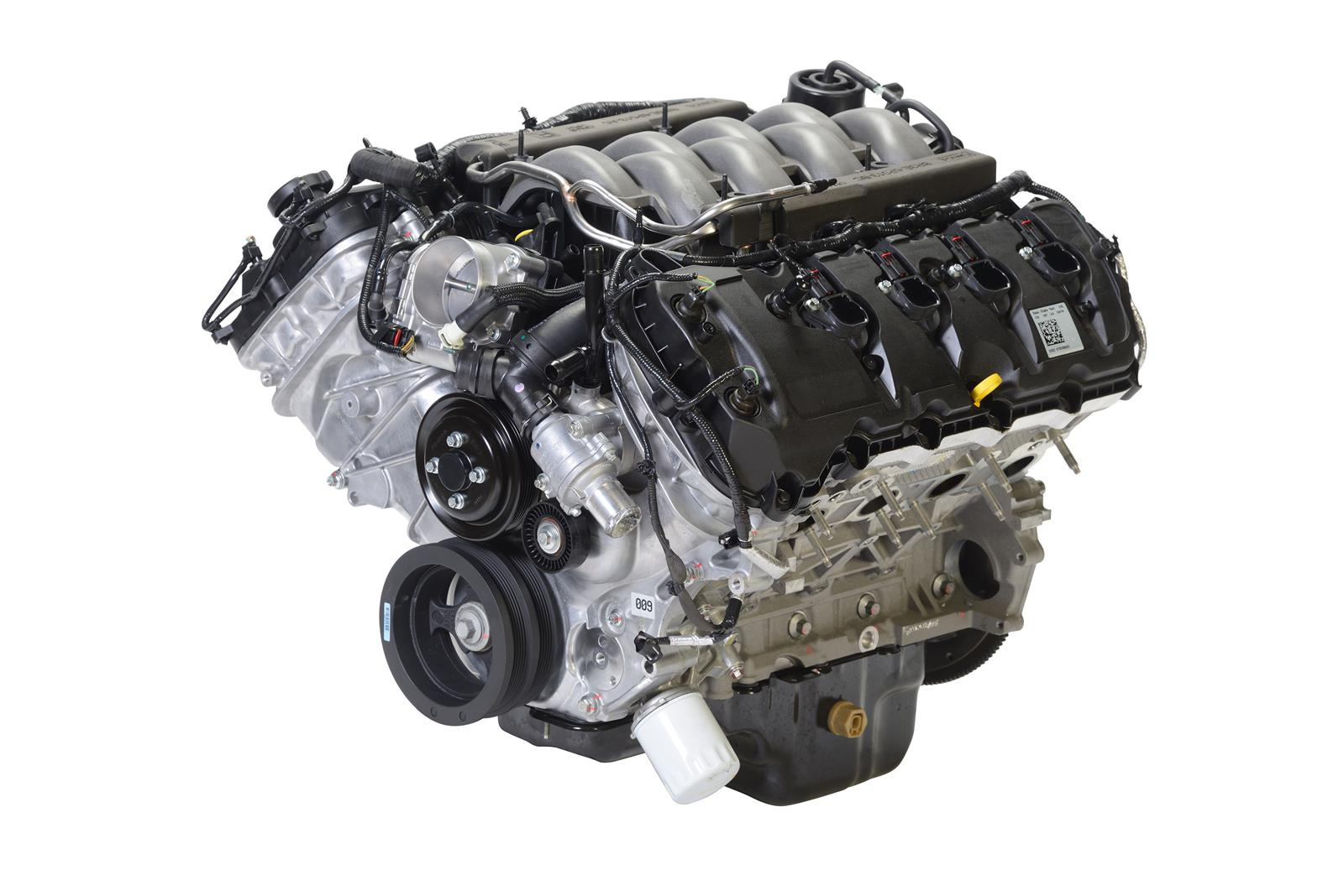 Ford Performance Parts 2015-17 5 0L Coyote 435 HP 32-Valve DOHC Long Block  Crate Engines M-6007-M50A