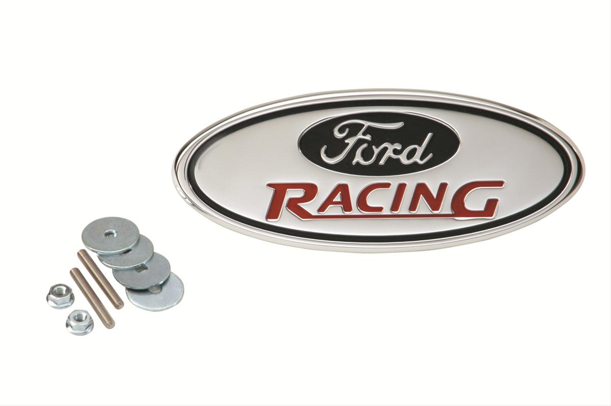 Ford performance parts emblems m 7843 b free shipping on orders over 99 at summit racing