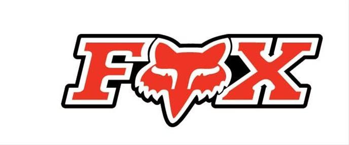 fox racing decal corporate graphic design vinyl red fox logo 7 0 in rh ebay com fox racing logo images fox racing logo svg