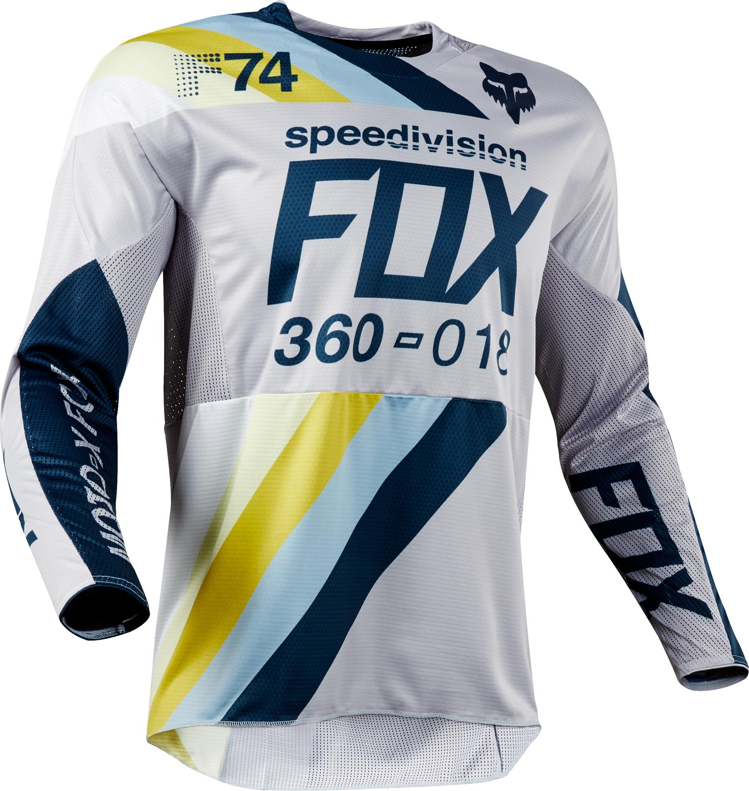 6288c339d Fox Racing 2018 360 Draftr Jerseys 19418-097-M - Free Shipping on Orders  Over  99 at Summit Racing
