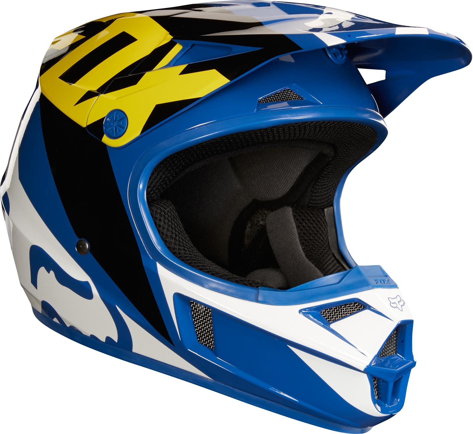 Fox Racing 2018 V1 Helmets 19541-002-S - Free Shipping on Orders Over $99  at Summit Racing