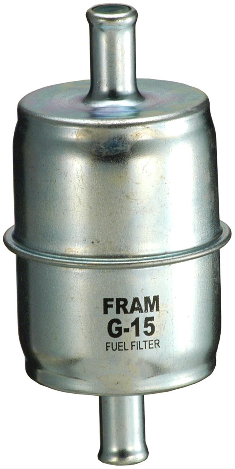 Fram Fuel Filters G15 - Free Shipping on Orders Over $49 at Summit Racing