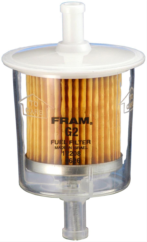 [DIAGRAM_5LK]  Fram Fuel Filters G2FP   Fram G2 Inline Fuel Filter      Summit Racing