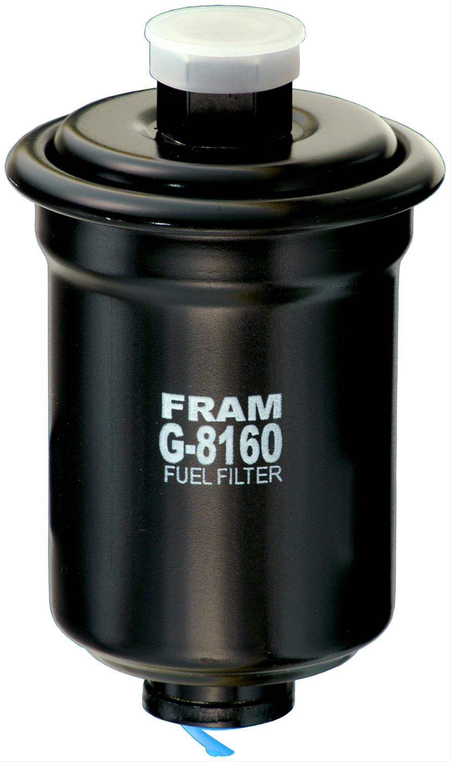 fram fuel filter inline black steel housing paper element. Black Bedroom Furniture Sets. Home Design Ideas