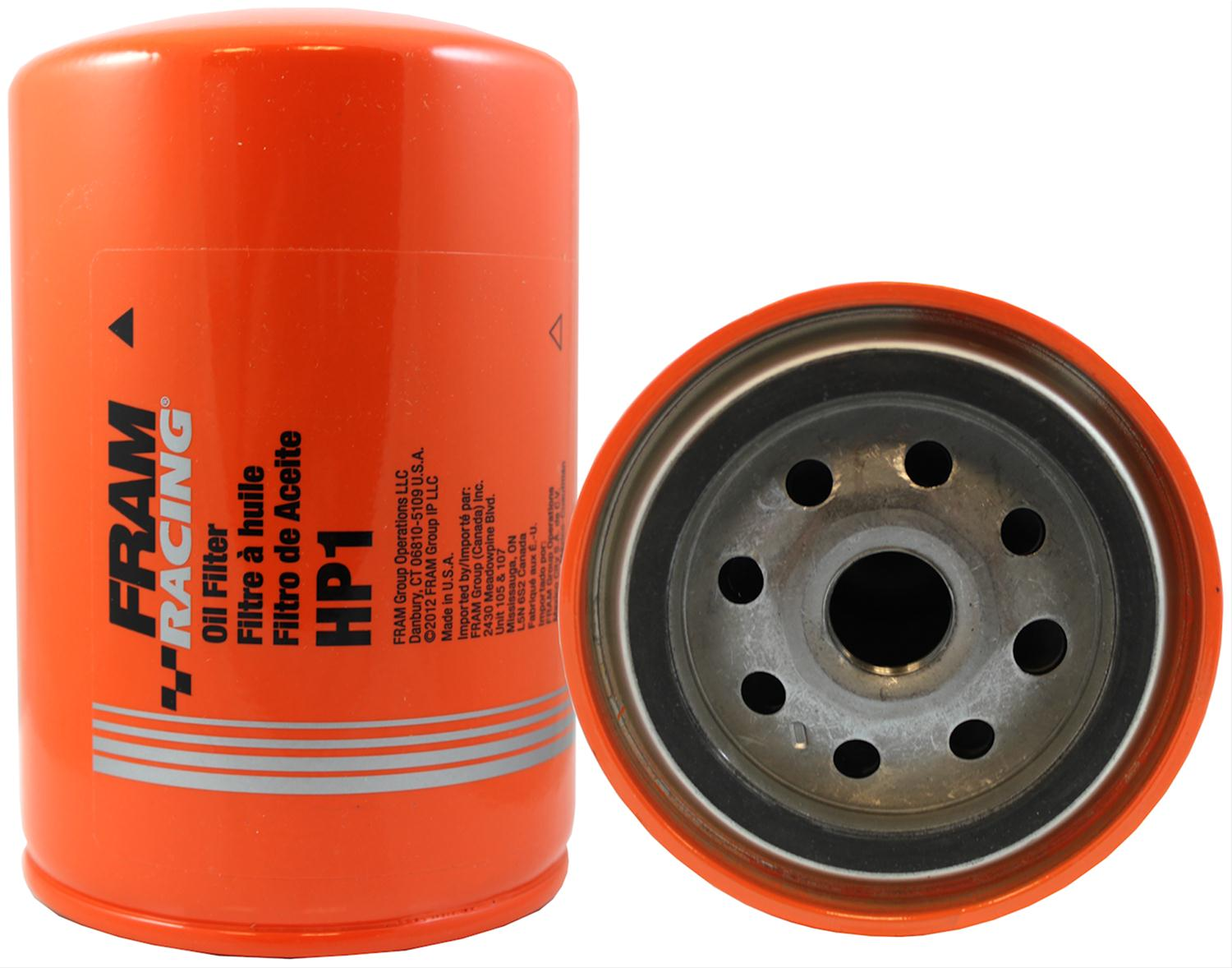 Fram Hp Series Oil Filters Hp1