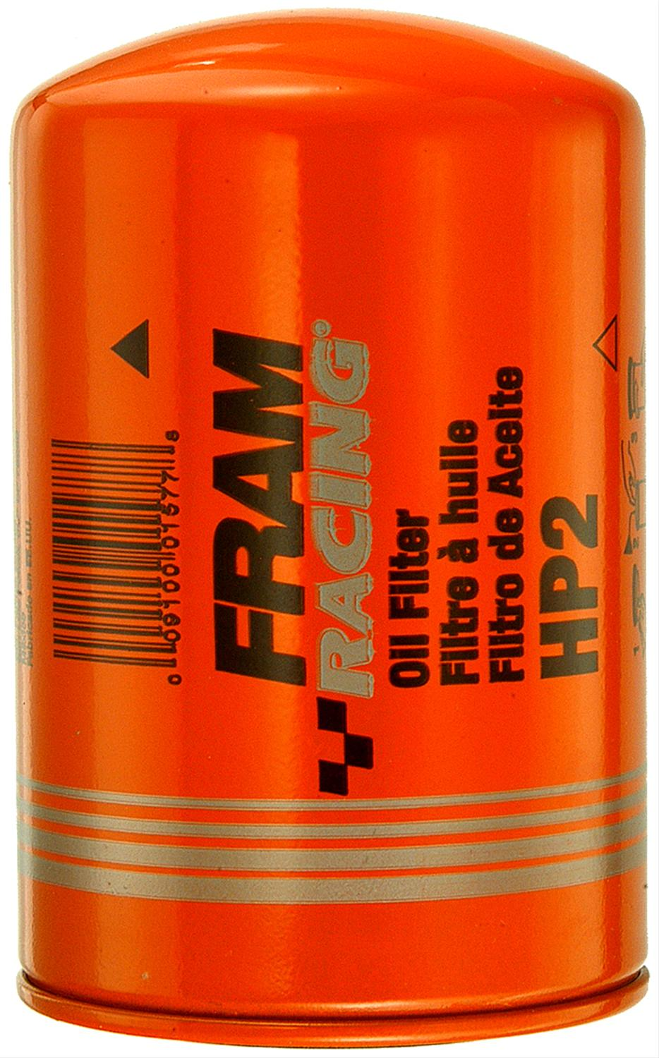 Fram Hp Series Oil Filters Hp2 Free Shipping On Orders Over 99 At Filter Top Fuel Racing Summit