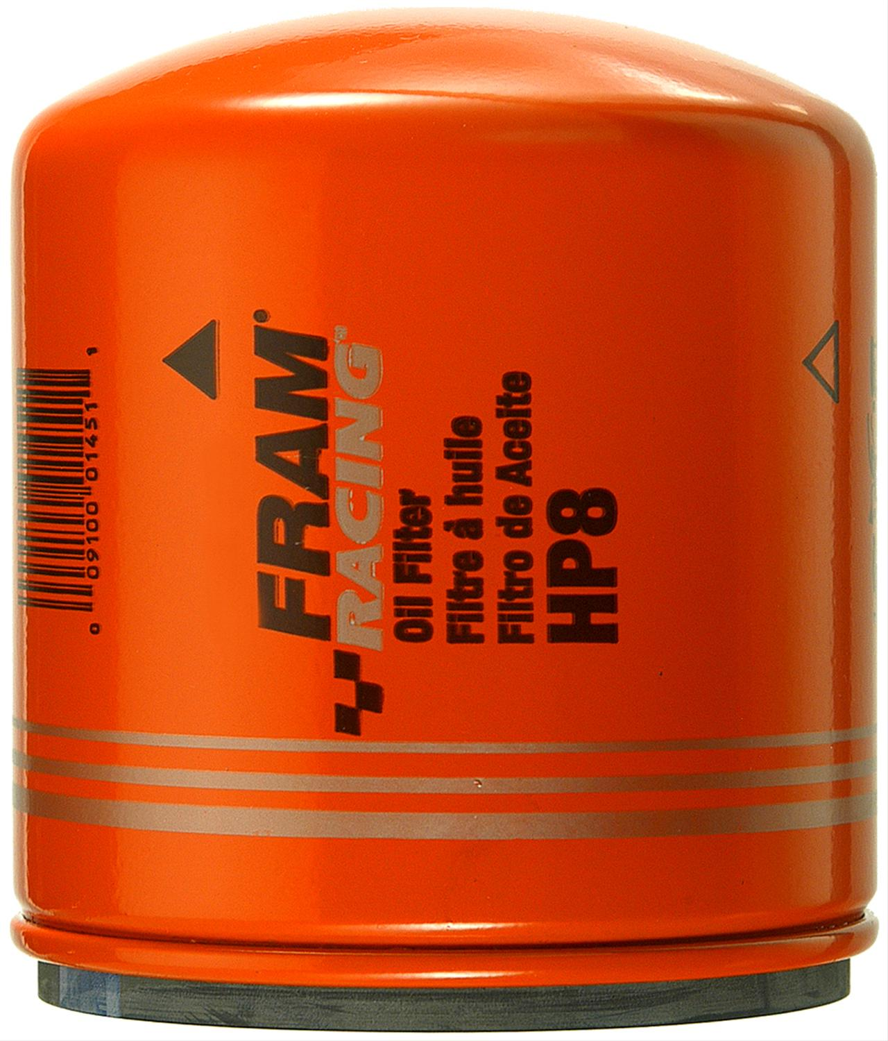 Fram HP Series Oil Filters HP8 - Free Shipping on Orders Over $49 at Summit  Racing