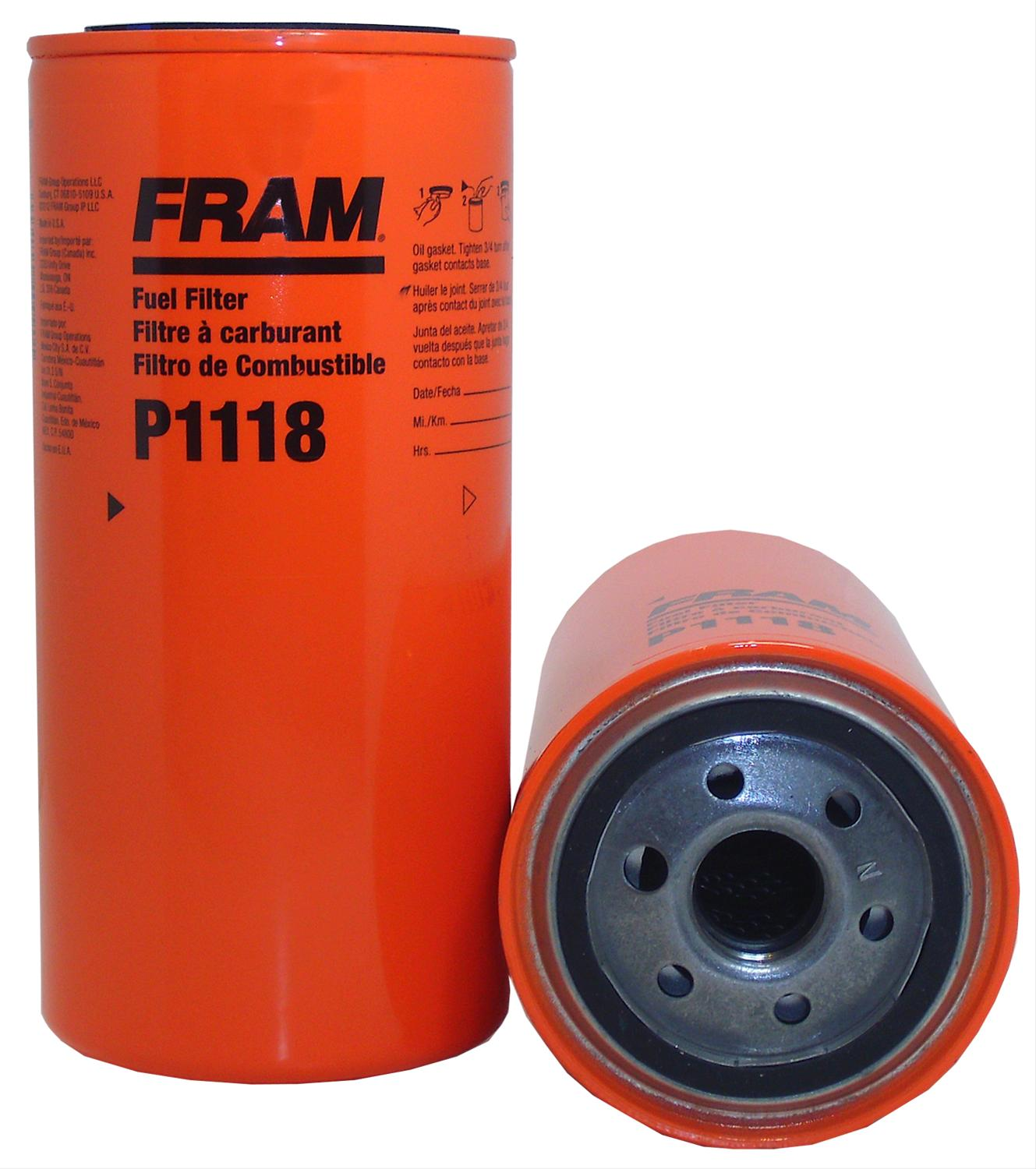 Fram Fuel Filters P1118 - Free Shipping on Orders Over $99 at Summit Racing