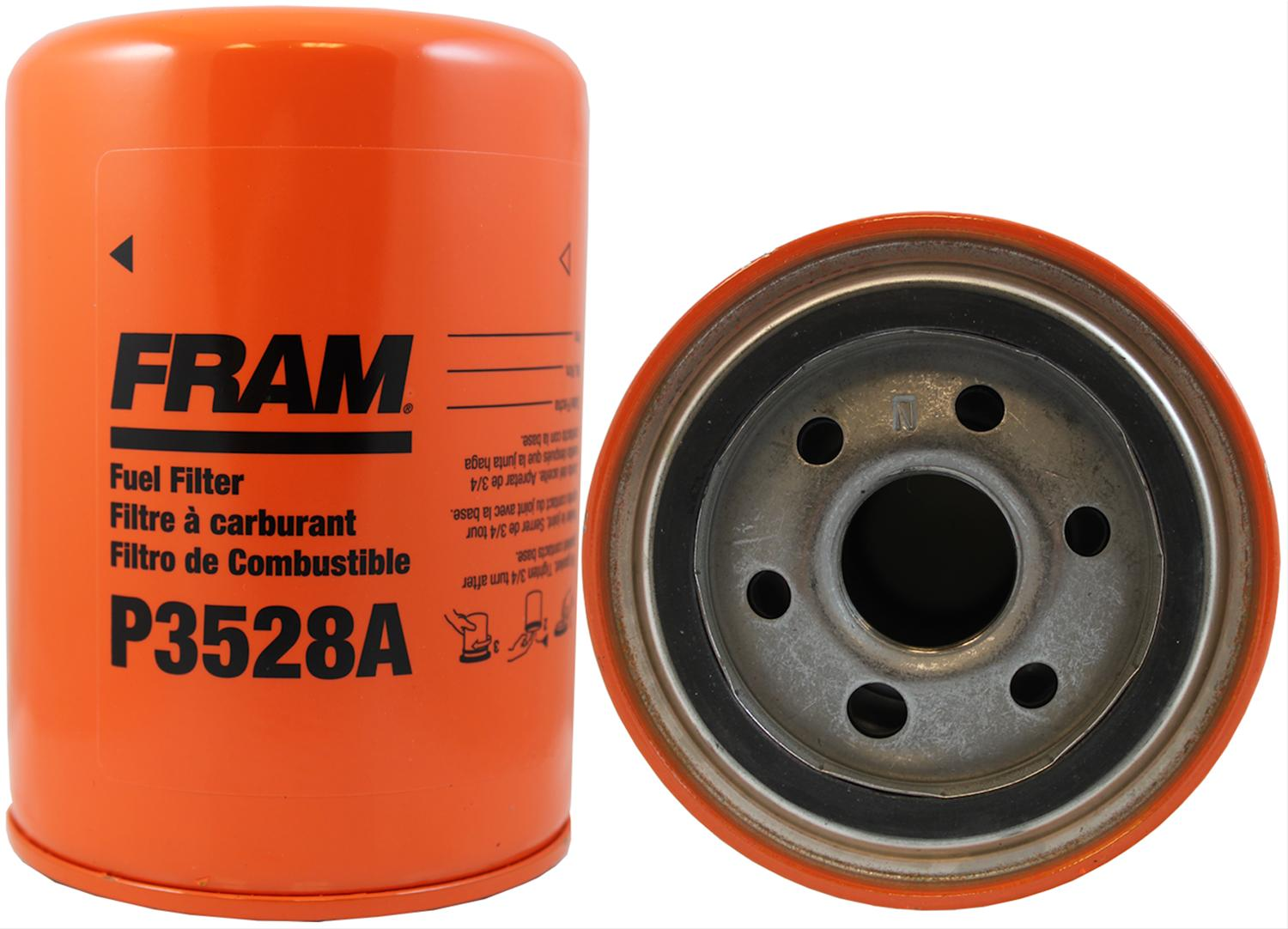 fram fuel filters p3528a - free shipping on orders over $99 at summit racing