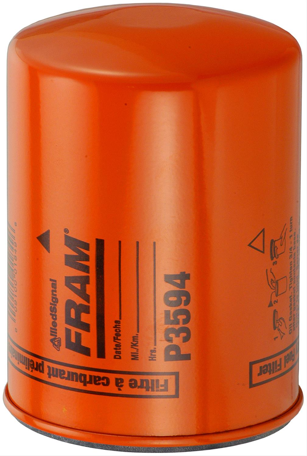 fram fuel filters p3594 - free shipping on orders over $99 at summit racing