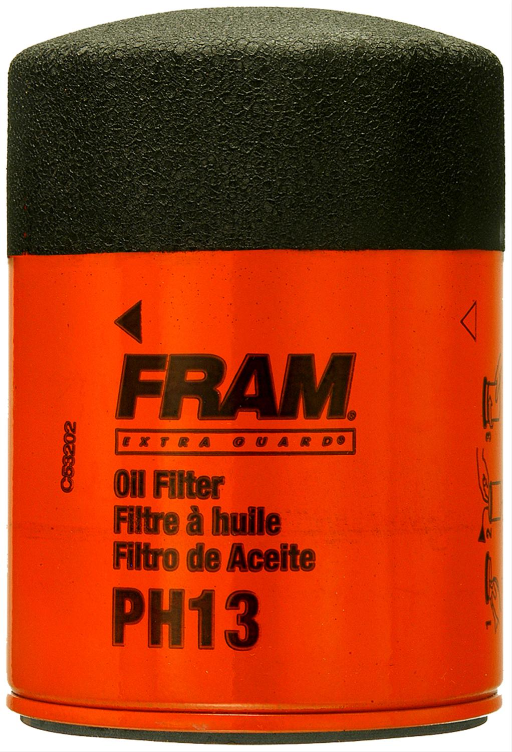 Fram Extra Guard Oil Filters Ph13 Free Shipping On Orders Over 49 Filter Top Fuel Racing At Summit