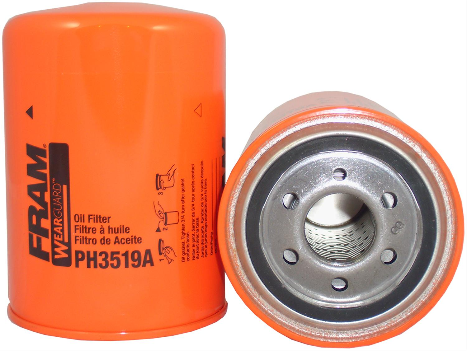Fram Ph3519a Oil Filter Extra Guard Canister Style Each Ebay Top Fuel Racing