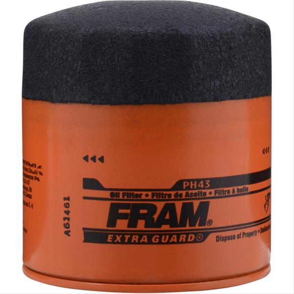 fram replacement oil filter ph43