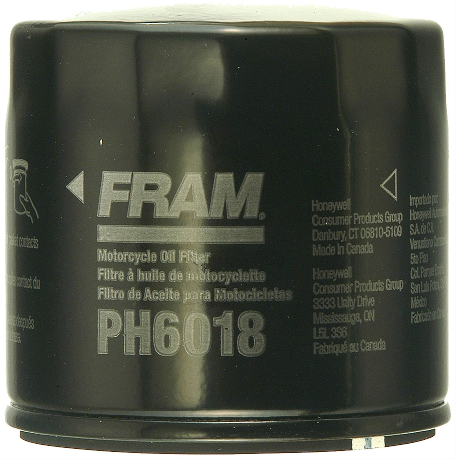 Fram Extra Guard Oil Filters Ph6018 For Your 2003 Arctic