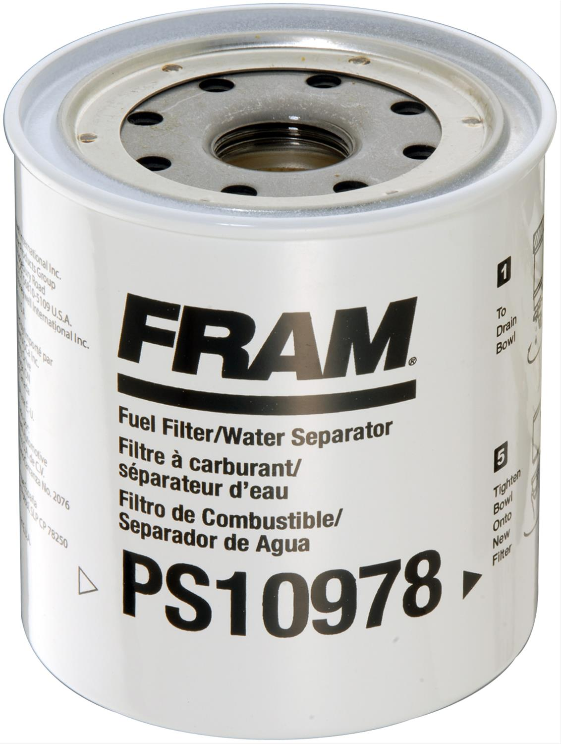 [SCHEMATICS_4JK]  Fram Fuel Filters PS10978 | Fram Fuel Filters Bowls |  | Summit Racing