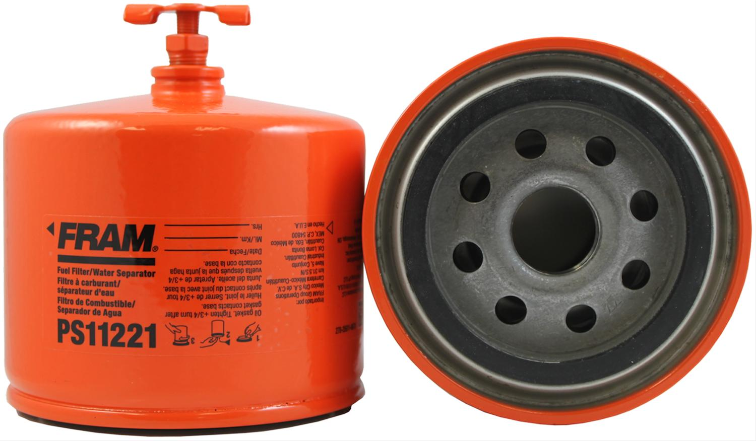 Fram Fuel Filters PS11221 - Free Shipping on Orders Over $49 at Summit  Racing