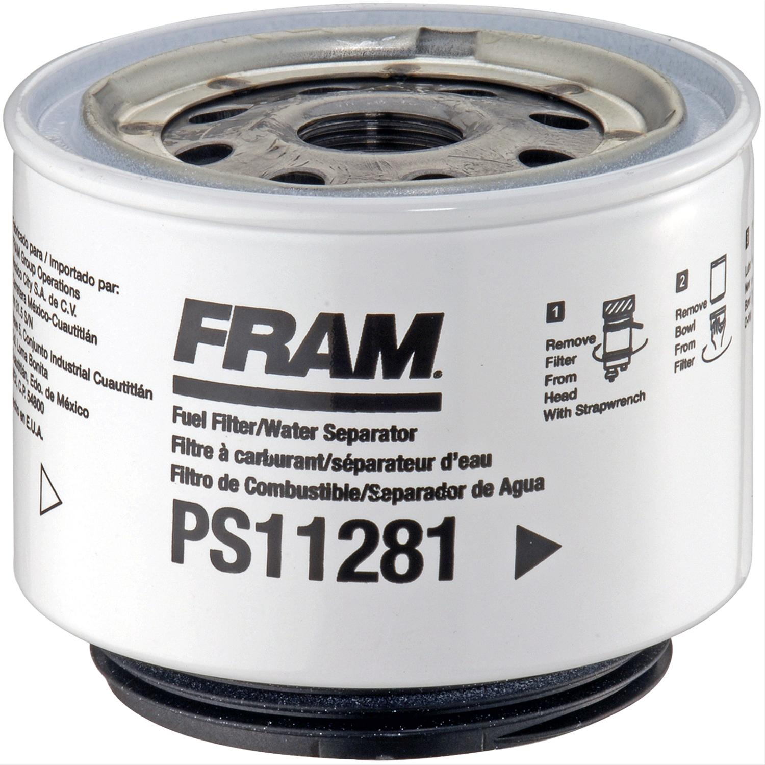 [SCHEMATICS_4UK]  Fram Fuel Filters PS11281 | Fram Fuel Filters Bowls |  | Summit Racing