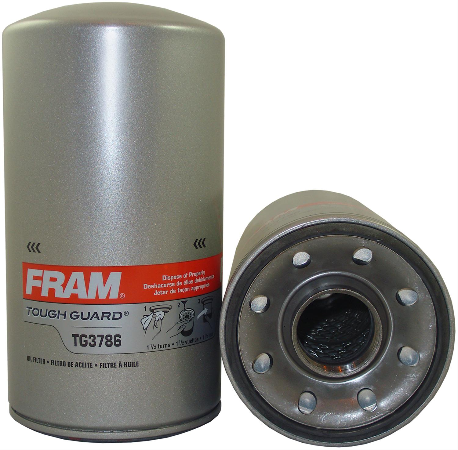 Ford 8n Air Filter Conversion : Fram tough guard oil filters free shipping on orders