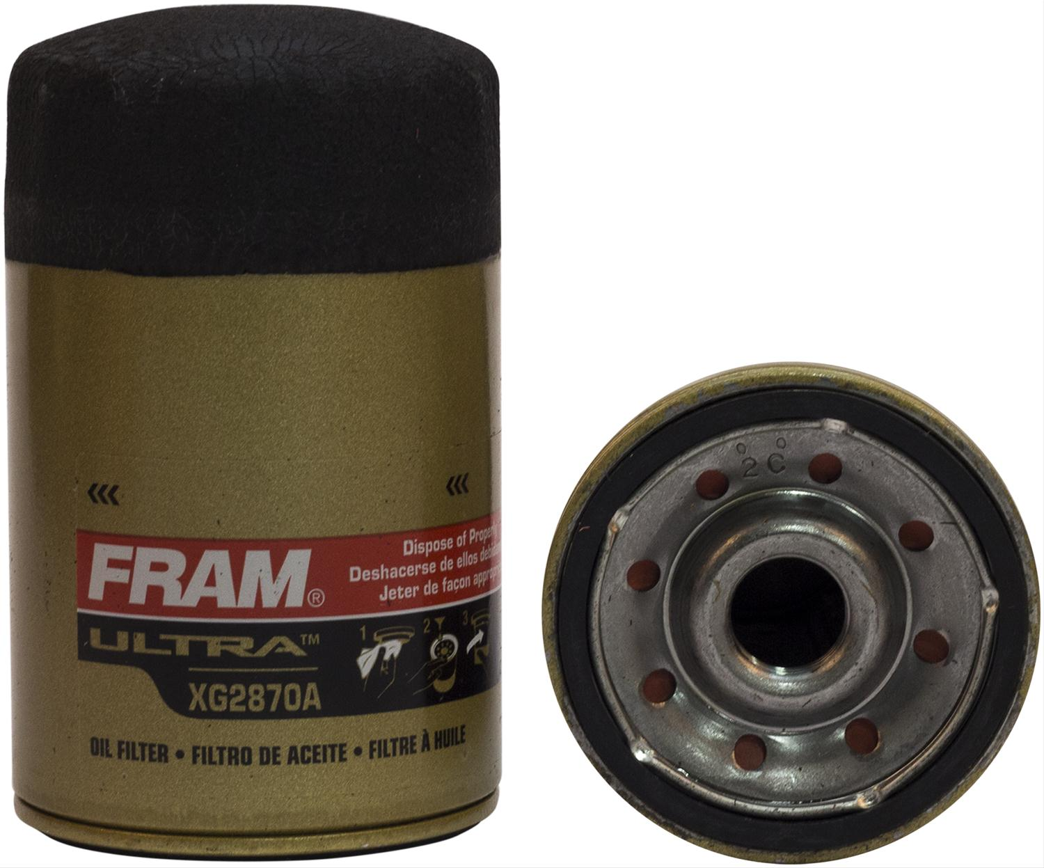 Fram Xtended Guard Oil Filters Xg2870a Free Shipping On