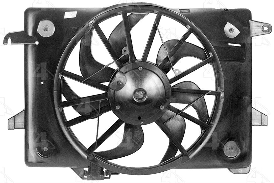 Four Seasons 75214 Cooling Fan Assembly