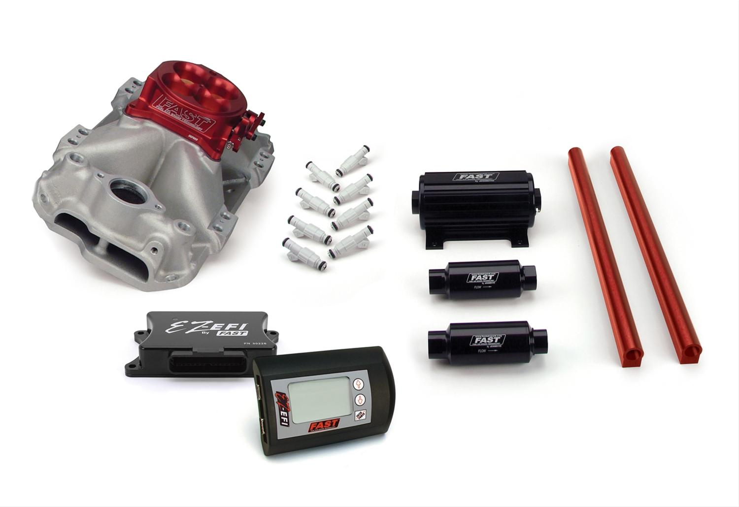 FAST EZ-EFI Multi-Port Complete Fuel Injection Systems 3012350-10E