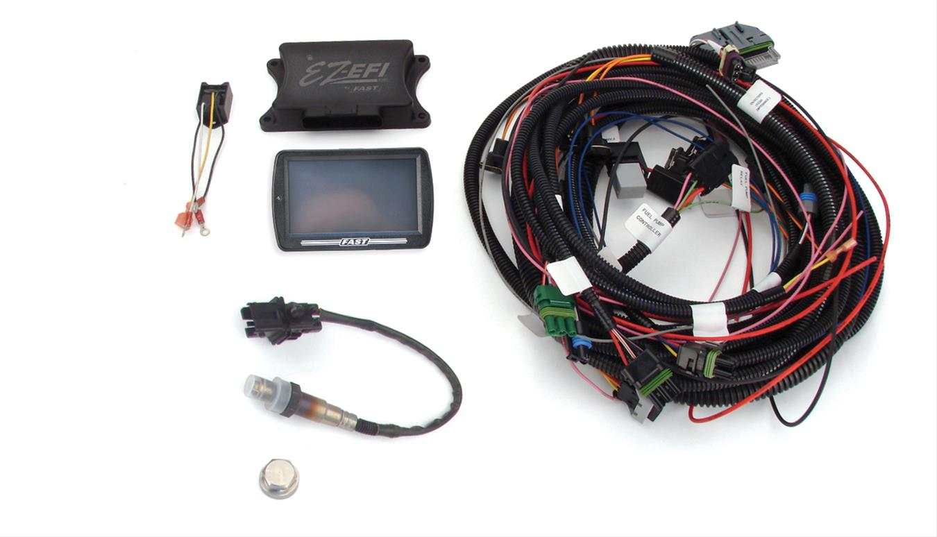 FAST Multi-Port Retro-Fit EZ-EFI Kits 302000-06 - Free Shipping on Orders  Over $99 at Summit Racing