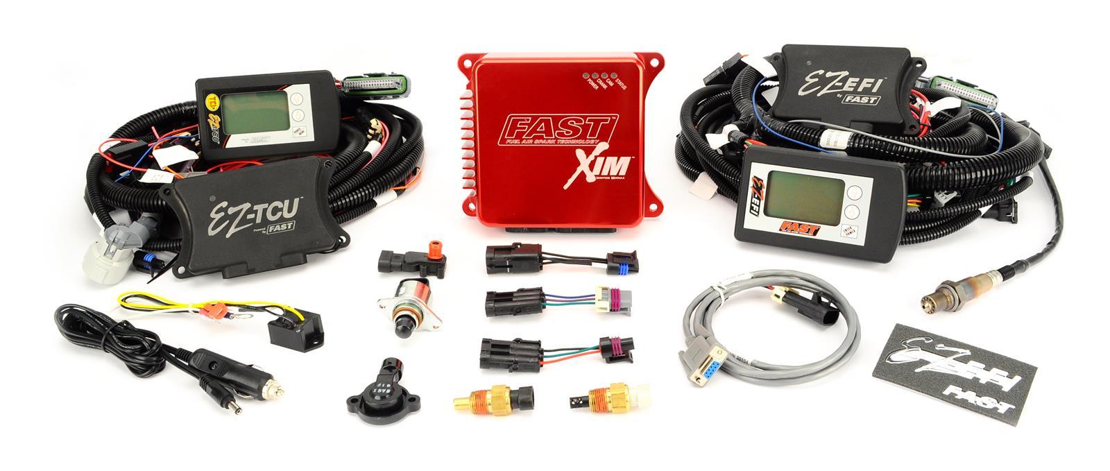 FAST EZ-EFI Multi-Port Self-Tuning Fuel Injection Systems 302002-TCU
