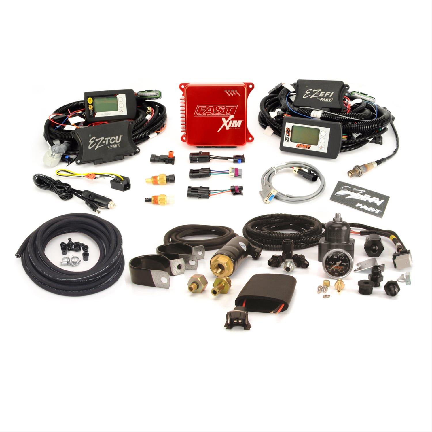 FAST EZ-EFI Multi-Port Self-Tuning Fuel Injection Systems 302002L-TCU