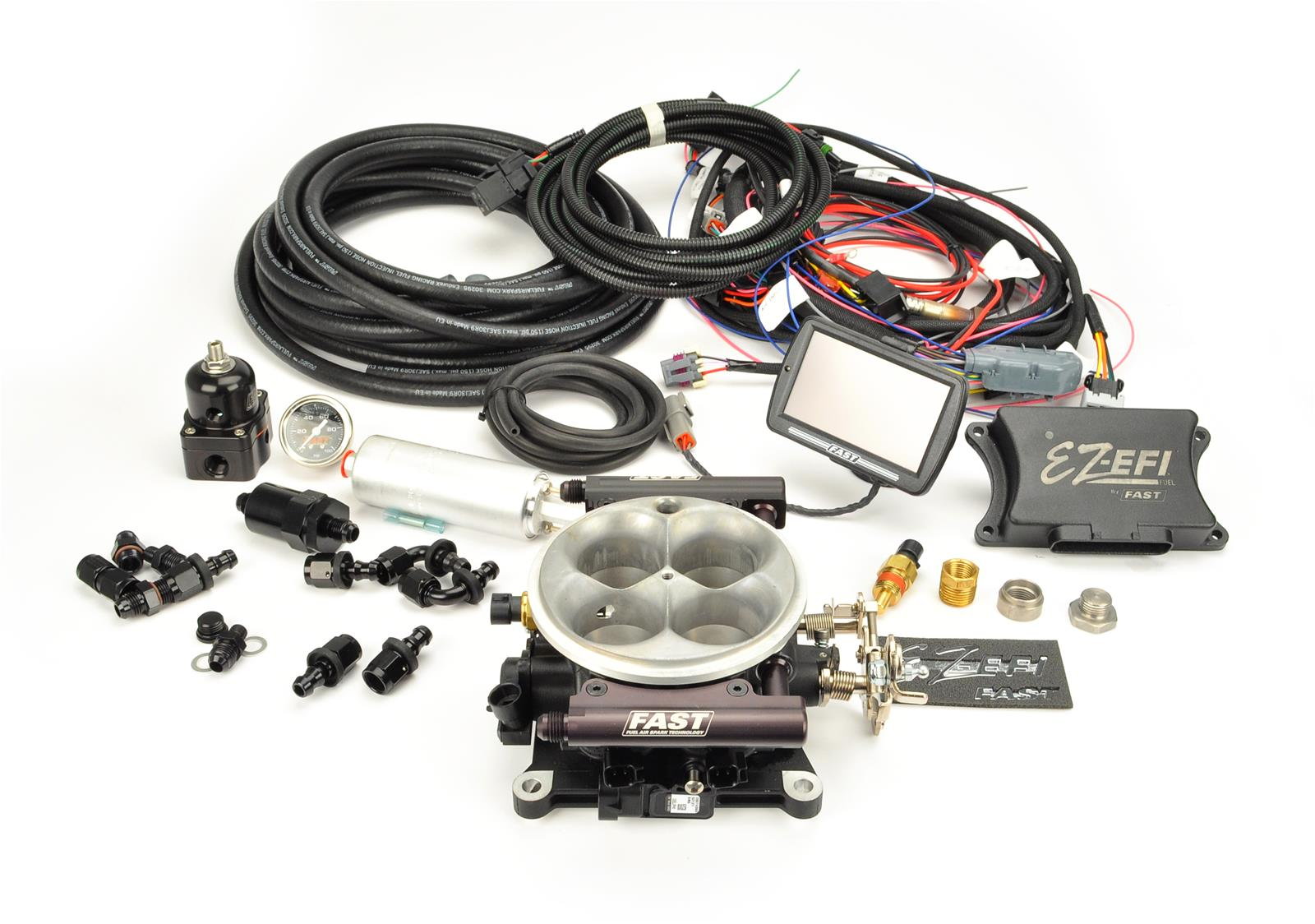 Fuel Systems For Blowers : Fast ez efi self tuning fuel injection system kit