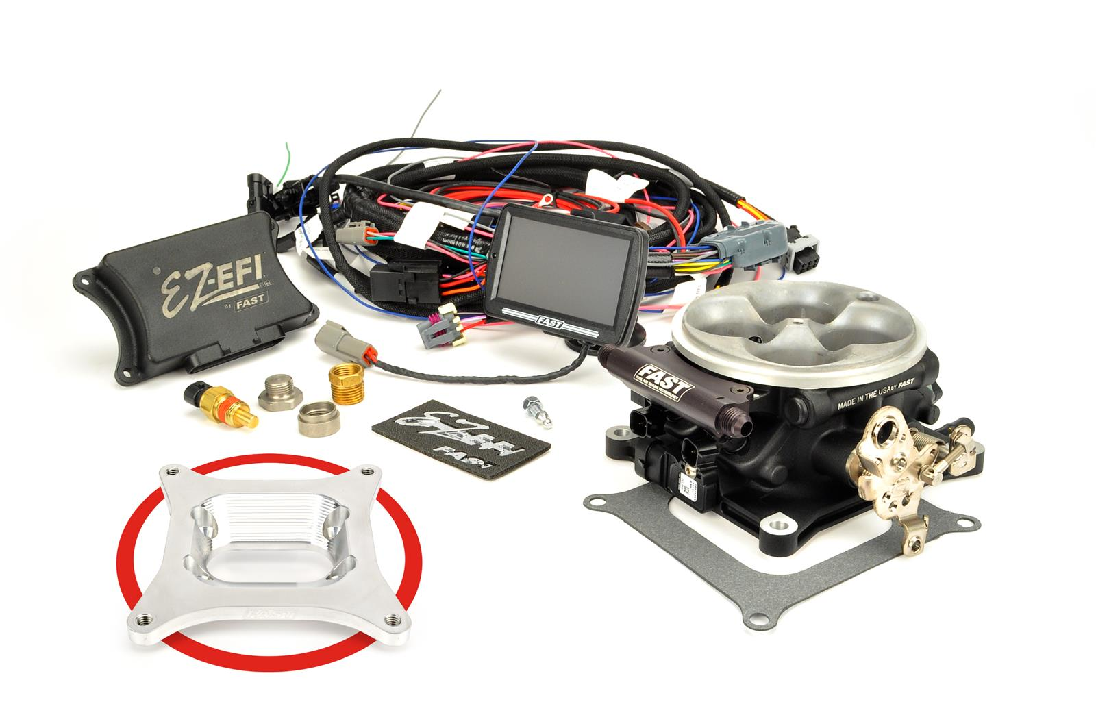 FAST EZ-EFI Self-Tuning Fuel Injection Systems 30294-06KIT - Free Shipping  on Orders Over $99 at Summit Racing