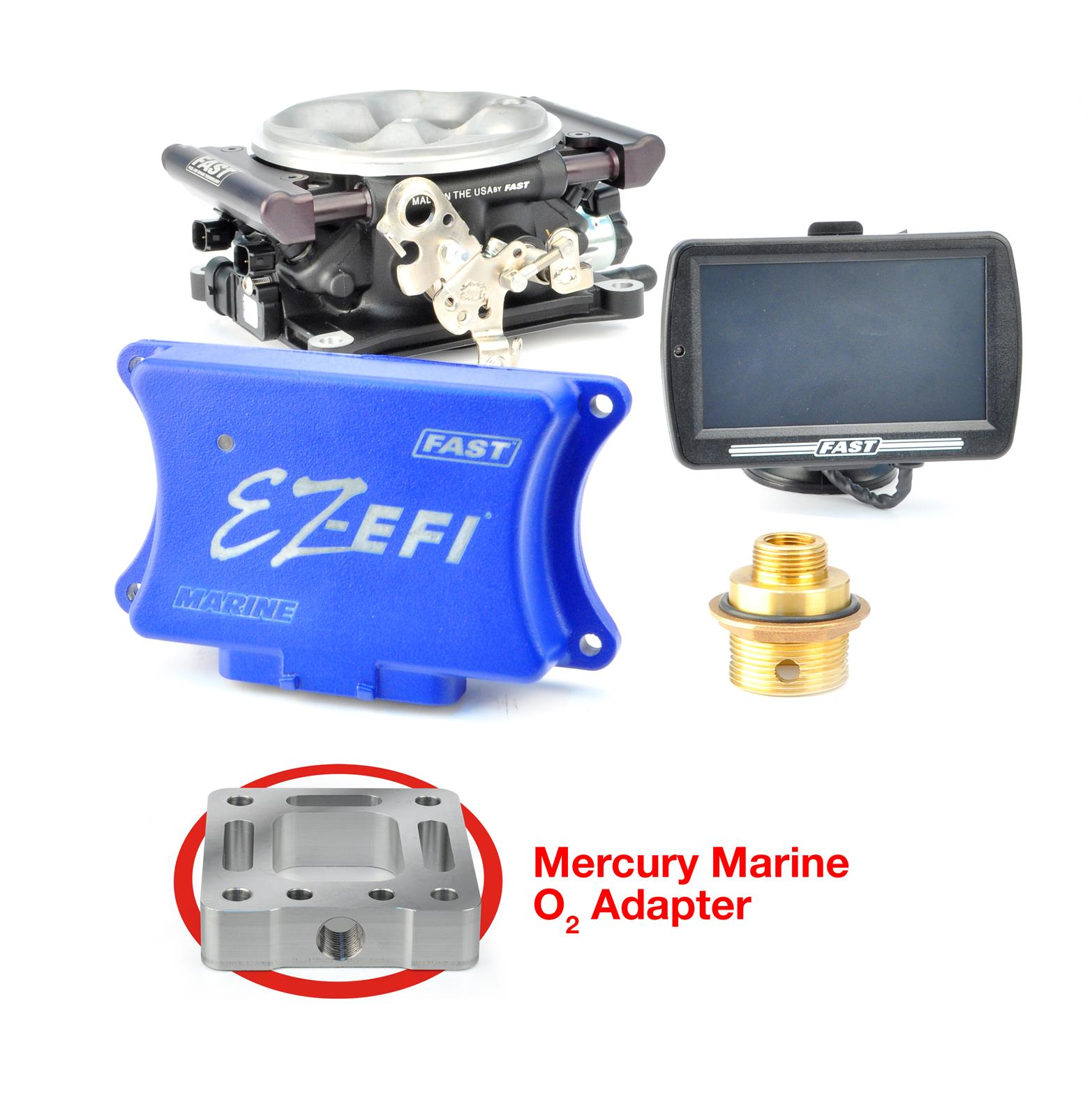 FAST EZ-EFI Marine Base Kit Fuel Injection Systems 30364-06KIT