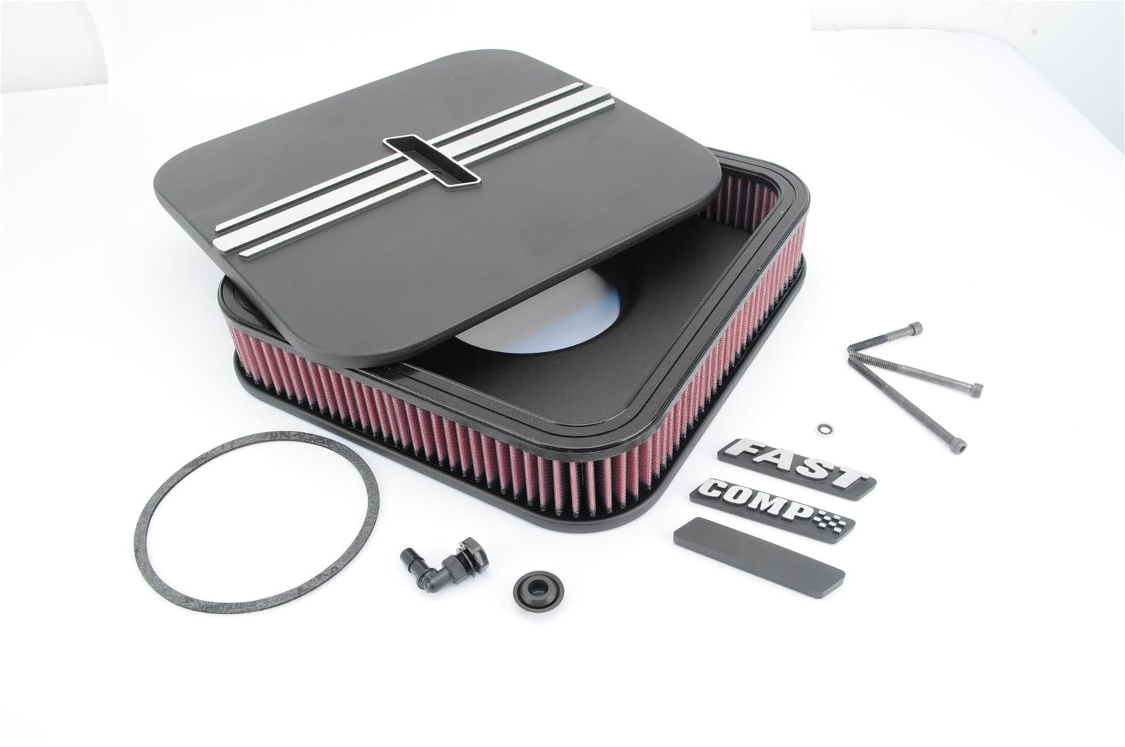 Fast Air Cleaners : Fast die cast aluminum air cleaner ebay