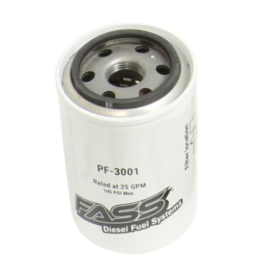 FASS Fuel Systems Replacement Fuel Filters PF3001