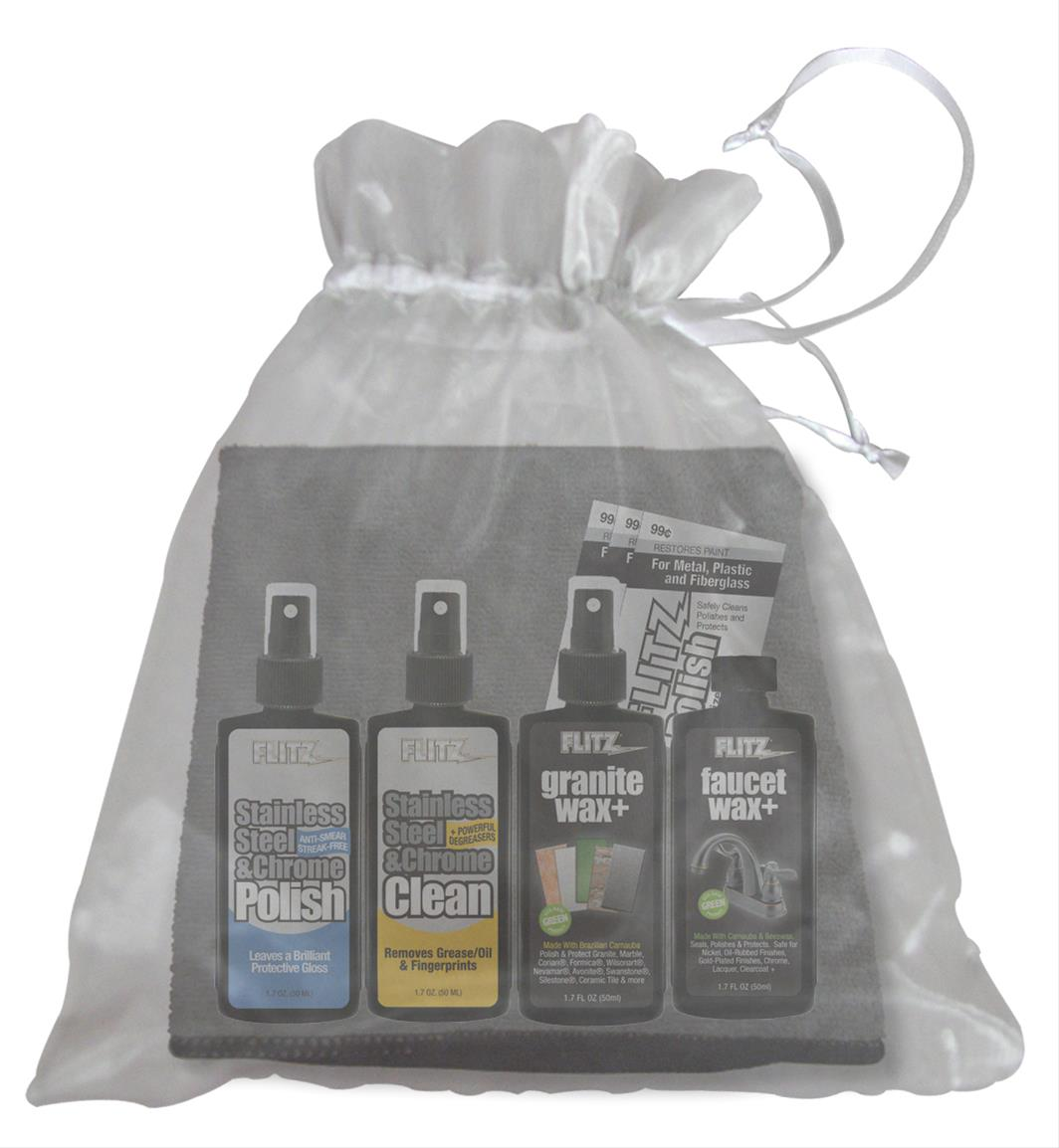 Flitz Kitchen and Bath Care Kits KB41507 - Free Shipping on Orders ...