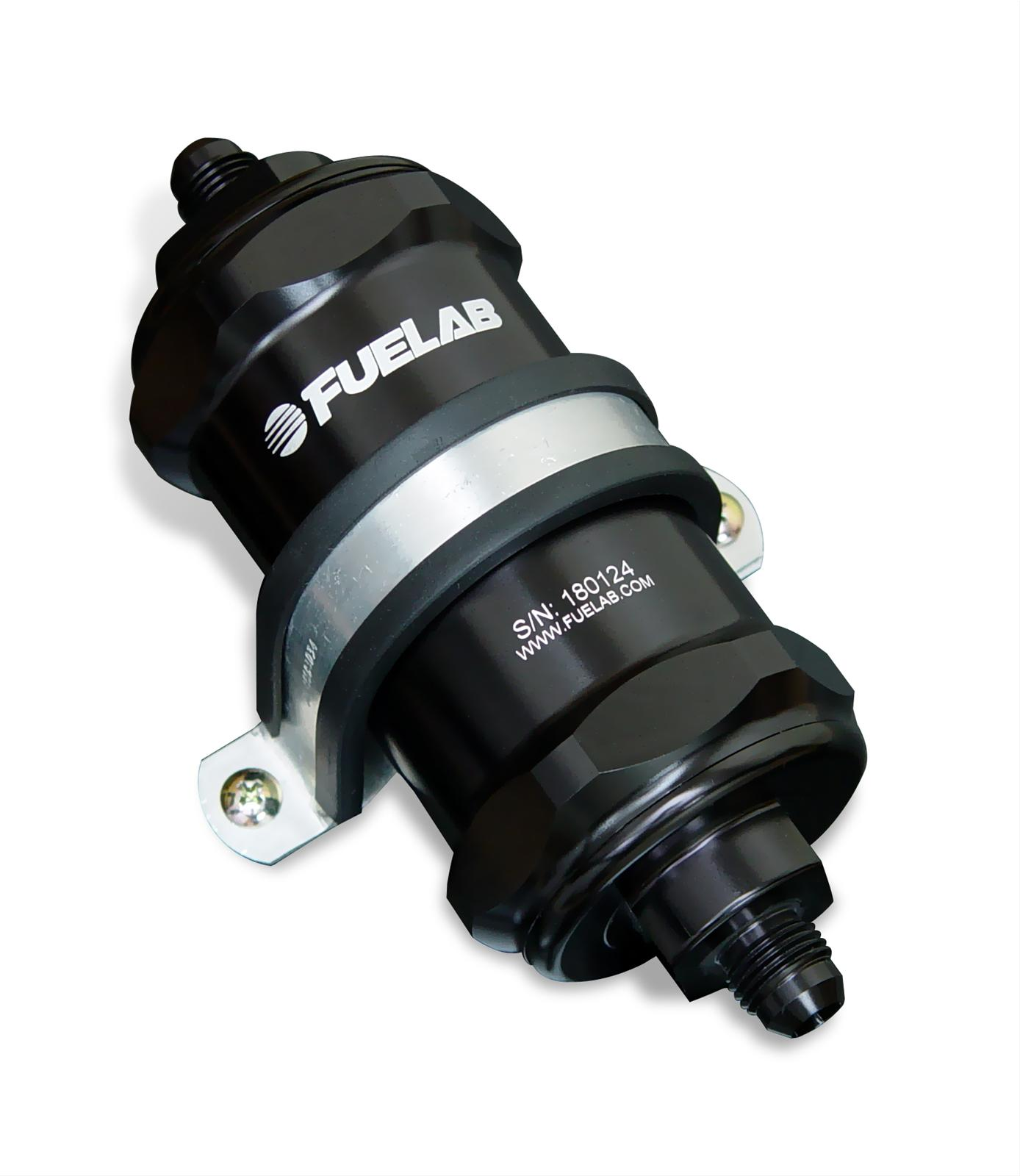 FUELAB 818 Series Inline Fuel Filters 81801-1 - Free Shipping on Orders  Over $99 at Summit Racing