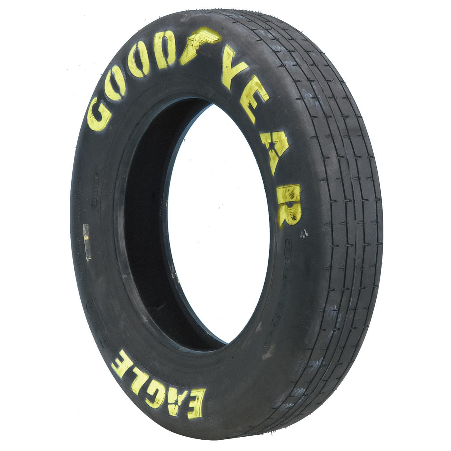 Asymmetrical tread pattern for Goodyear eagle yellow letter street tires