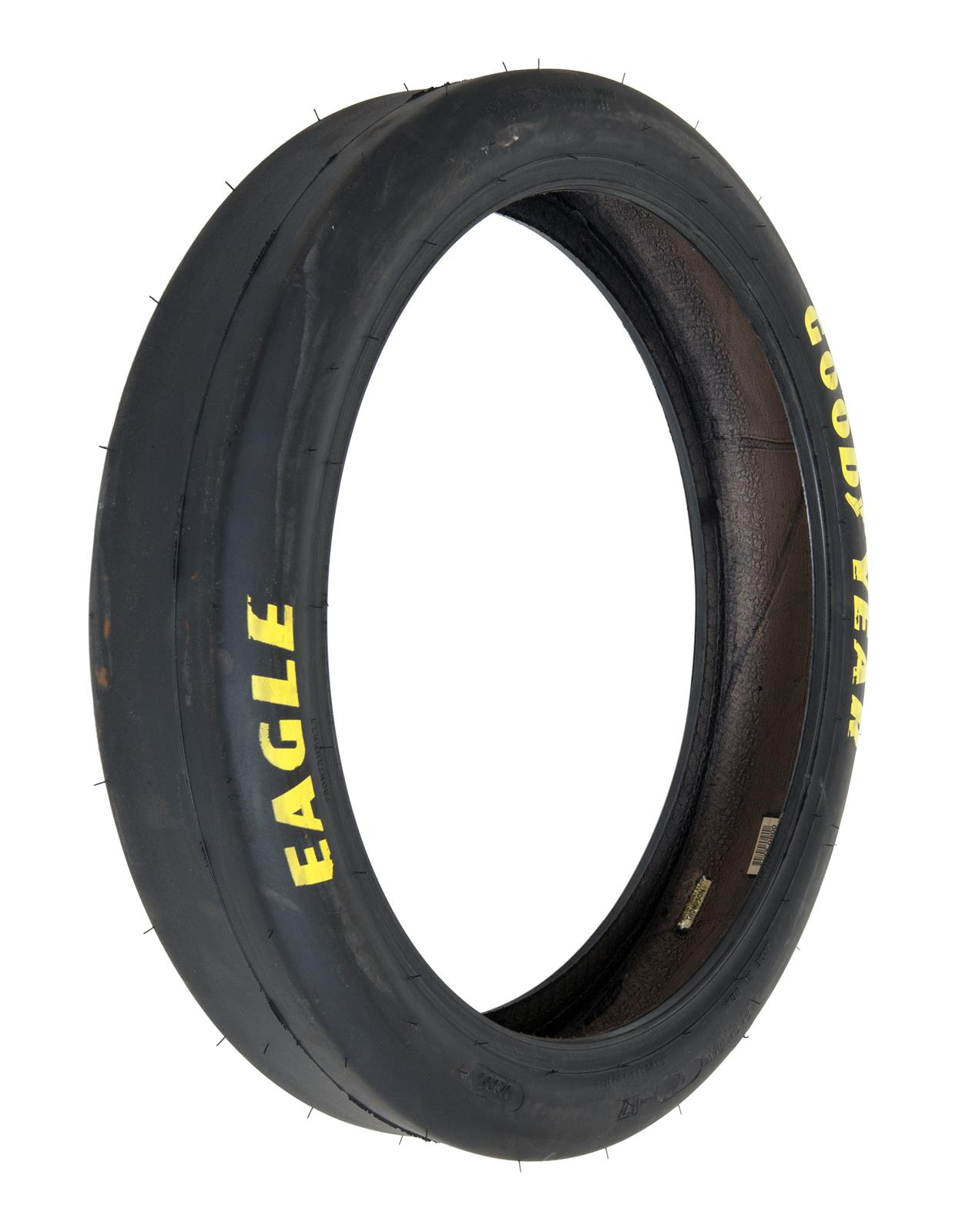 Goodyear eagle dragway special front runner tire 22x400 for Goodyear eagle yellow letter street tires