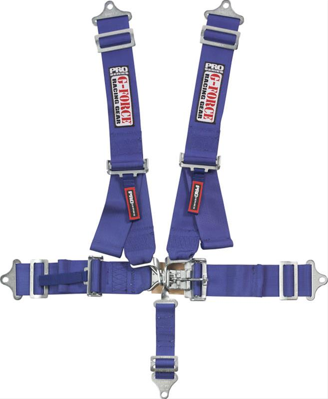 G-FORCE Latch and Link Individual Shoulder Harness Sets 6241BU ...