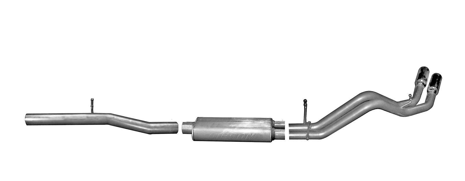 Gibson Dual Sport Truck Exhaust Systems 65656