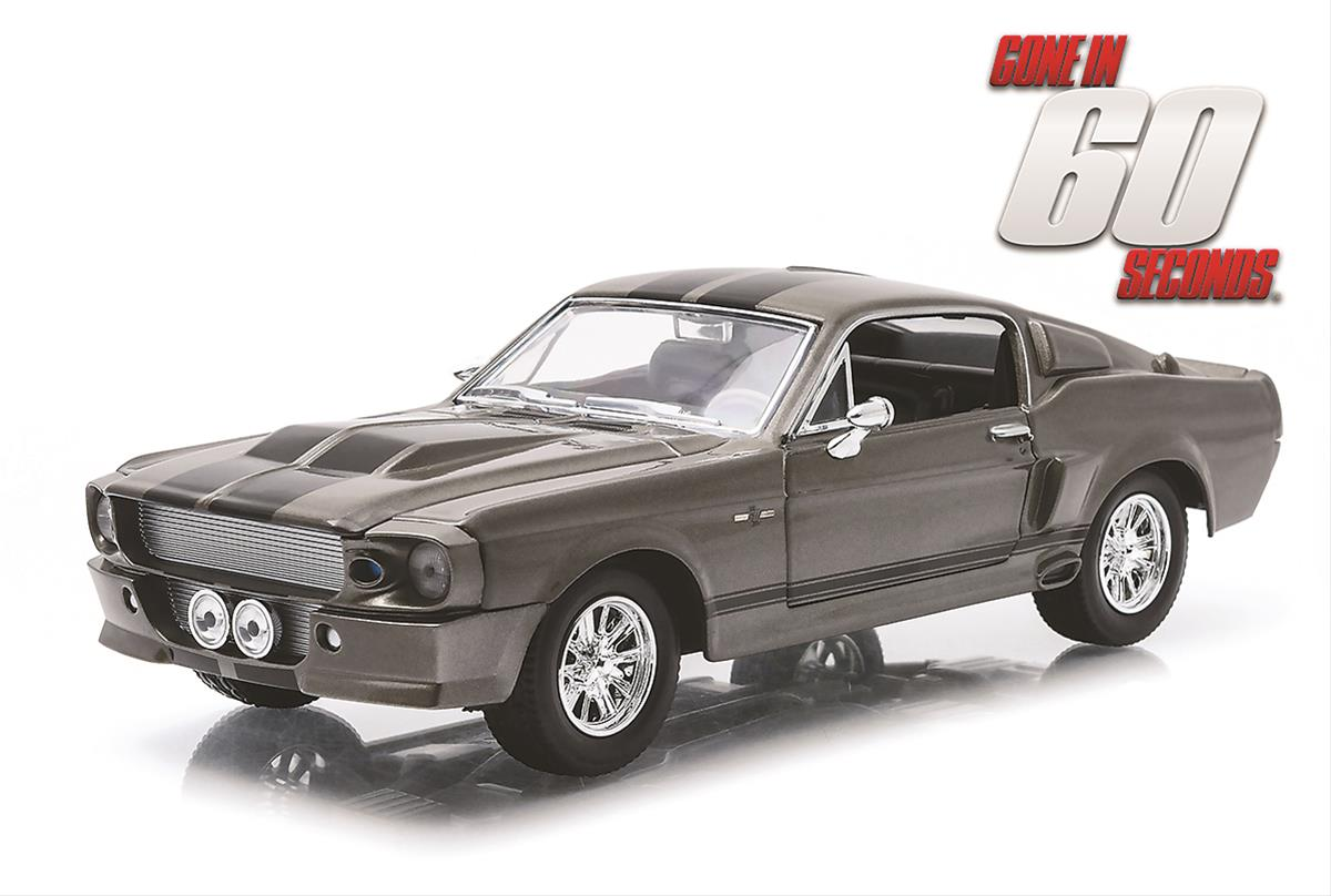 124 scale gone in 60 seconds 1967 ford mustang diecast model 18220 free shipping on orders over 99 at summit racing