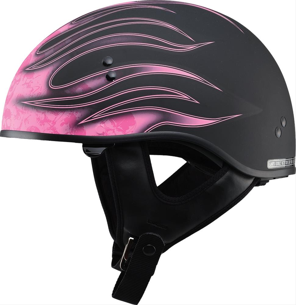 Summit Racing Helmets >> GMAX GM65 Naked Half Helmets G1657404 - Free Shipping on Orders Over $99 at Summit Racing
