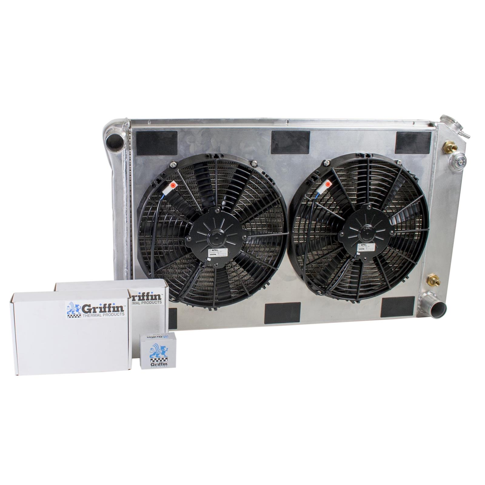 Griffin Exact Fit Radiator Combos Cu 70007 Free Shipping On Orders Fuel Filters Over 99 At Summit Racing