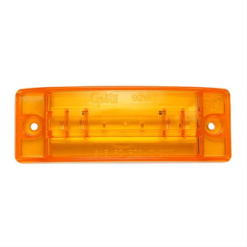 Grote 47073 SuperNova Sealed Turtleback II LED Clearance Marker Light