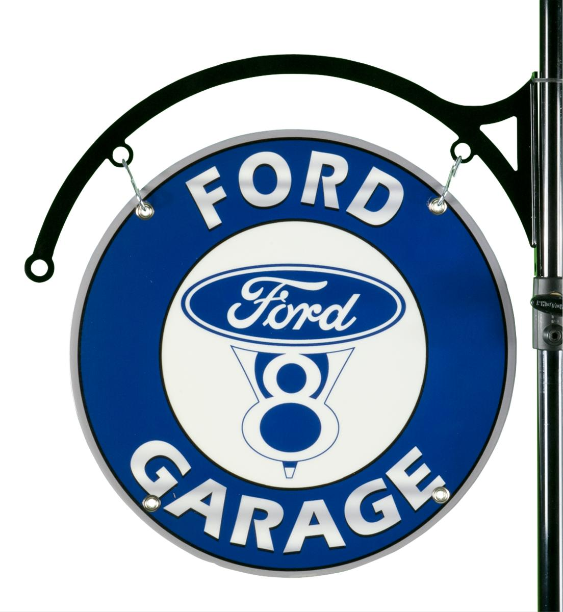 Ford Garage Signs : Ford garage double sided sign fv ds free shipping on