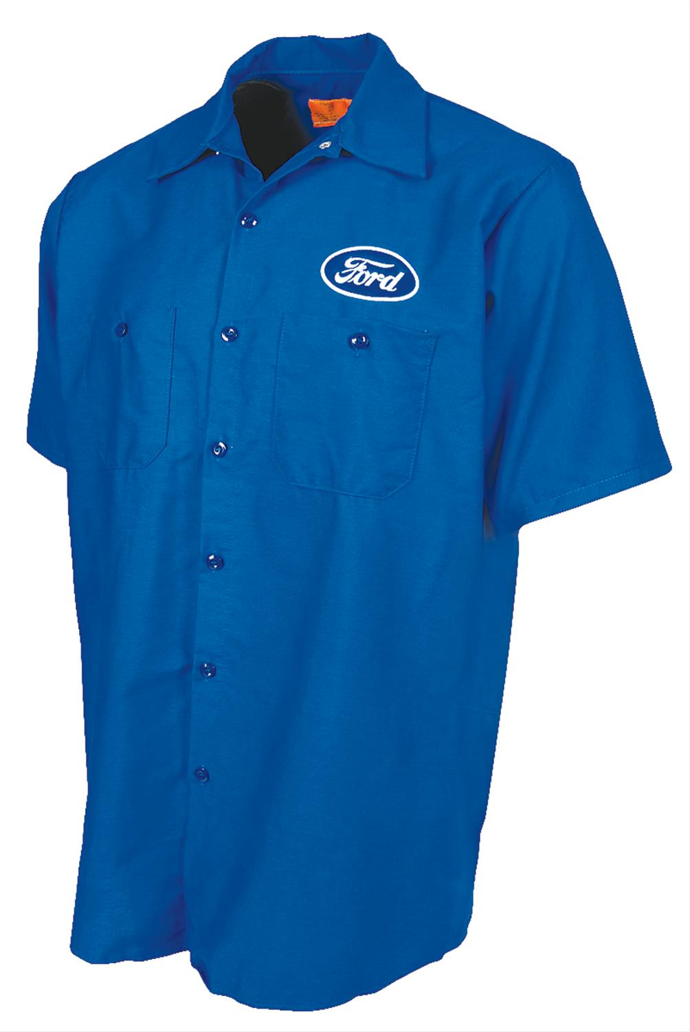 Ford Distressed Mechanics Shirt Free Shipping On Orders Over 99