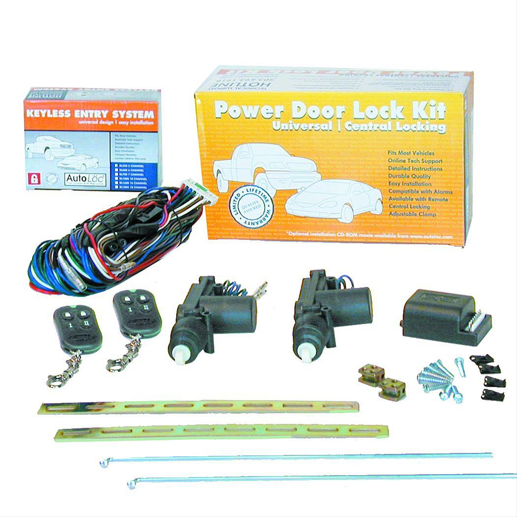 Autoloc Power 2 Door Central Lock Conversion Kits 140813 Free 2005 Dodge Ram Wiring Diagram Shipping On Orders Over 99 At Summit Racing