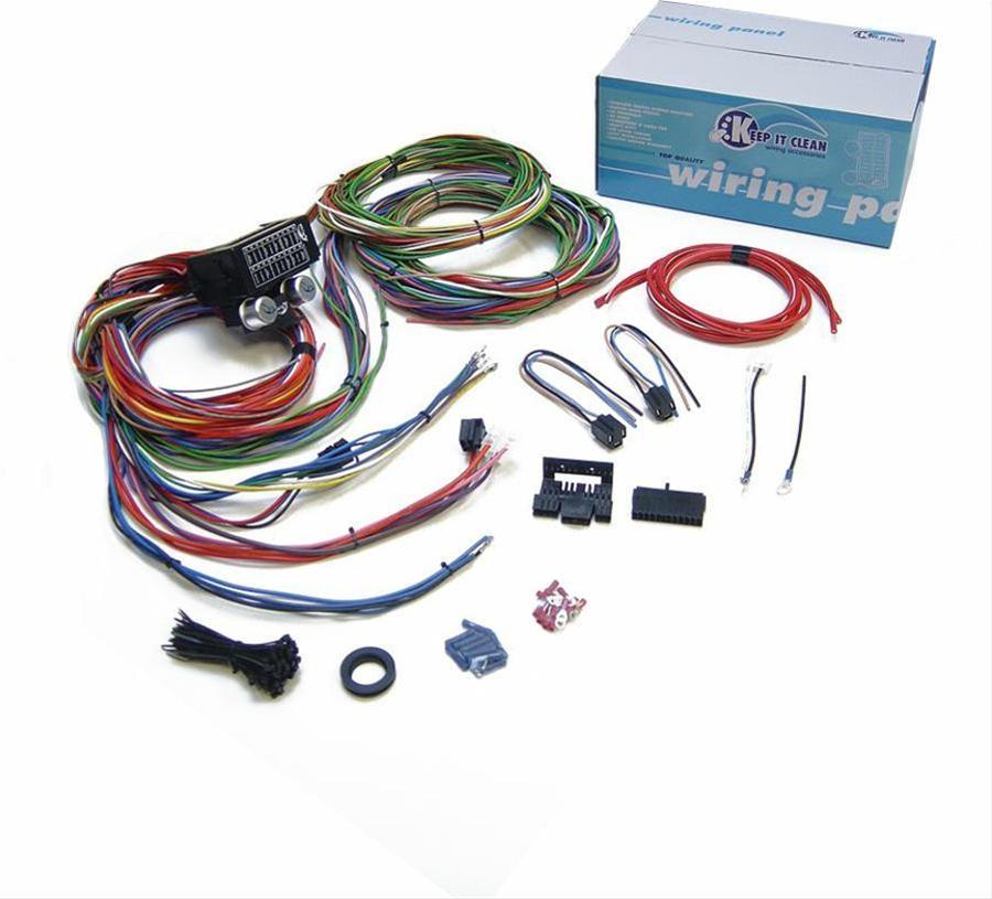 keep it clean wiring 12936  summit racing