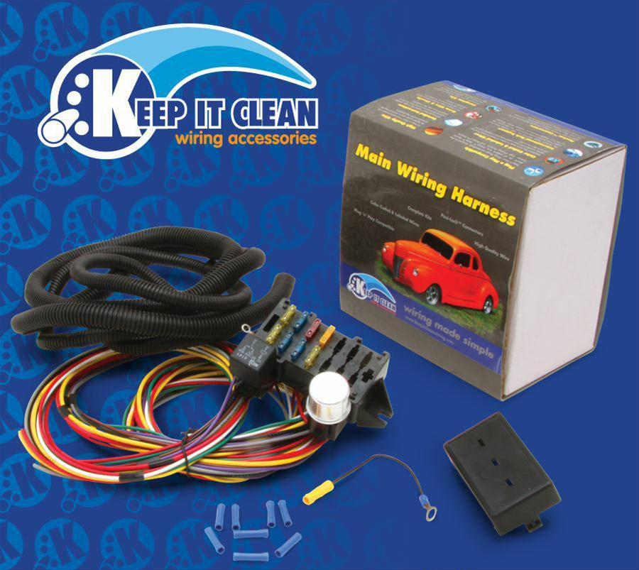 Wiring Harness Clean Up : Keep it clean procomp wiring harness b ebay